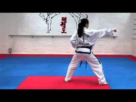 Itf taekwondo 4th dan thesis